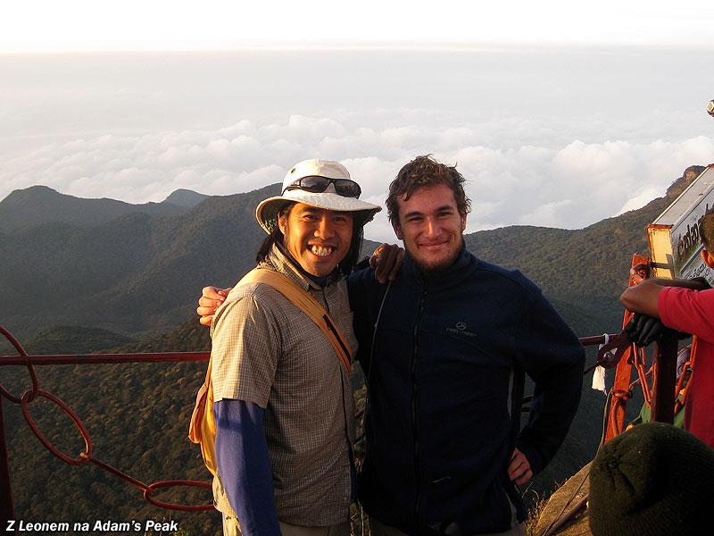 Z Leonem na Adam's Peak