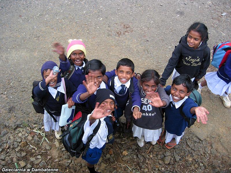 Dzieciarnia w Dambatenne