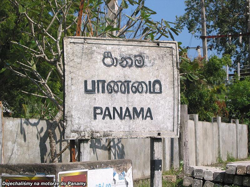 Dojechaliśmy do Panamy
