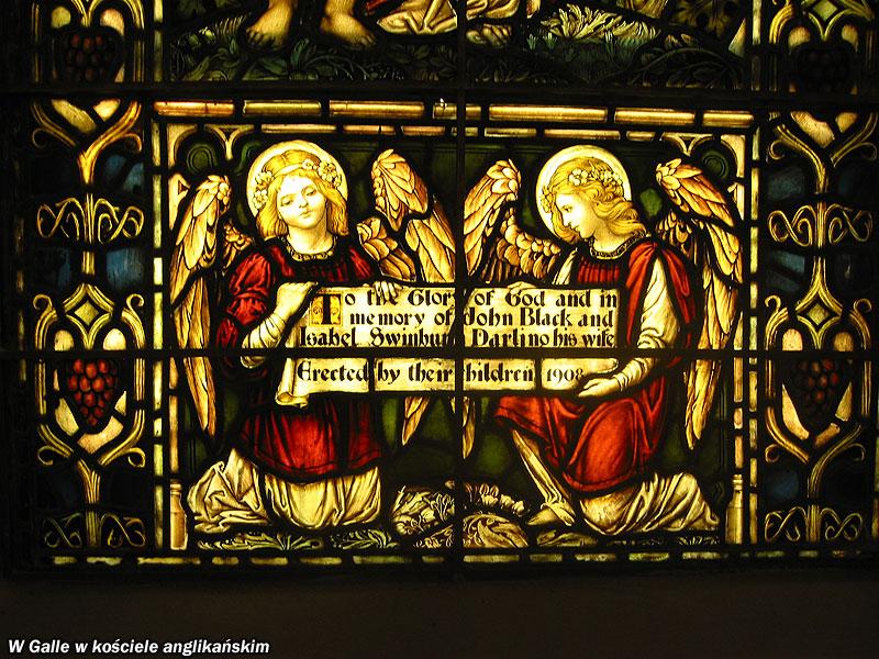 W Galle w kościele anglikańskim