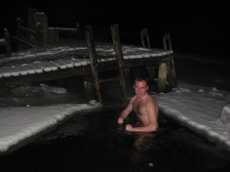 Sauna po biegówkach