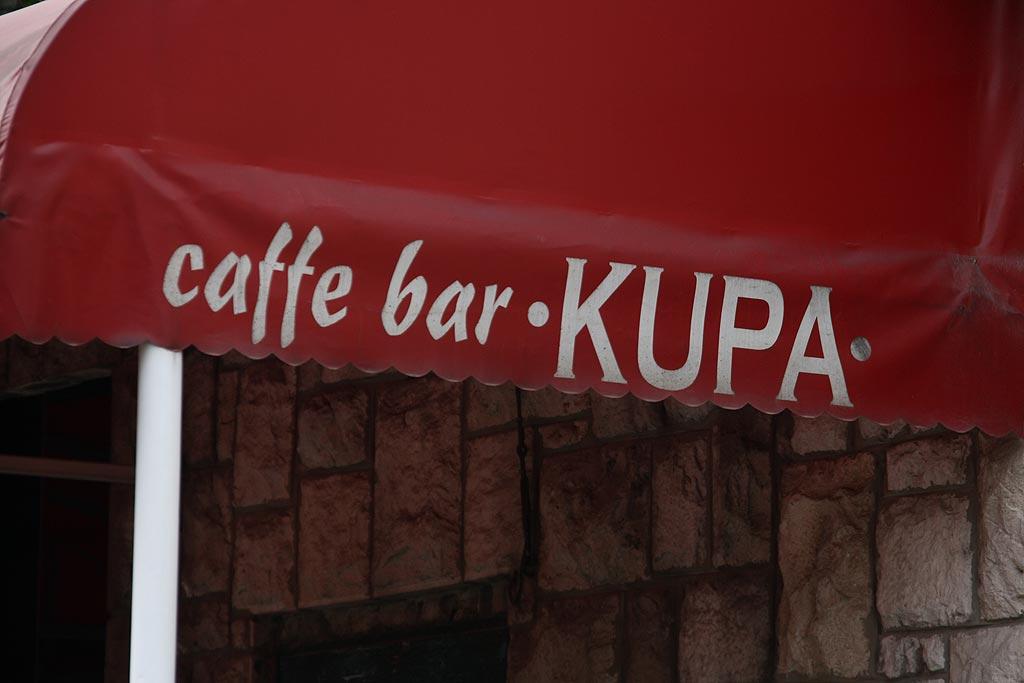 Caffe bar KUPA