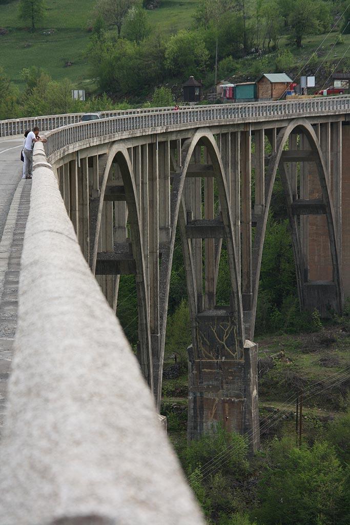 Most nad rzeką Tara