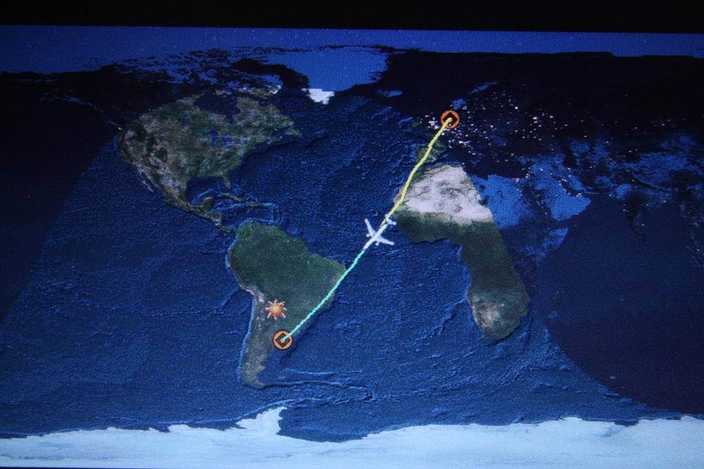 W samolocie Amsterdam - Buenos Aires