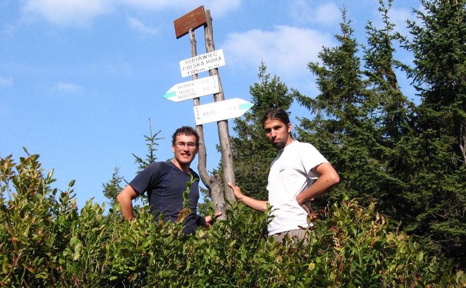 Z Tomkiem na Rudawcu