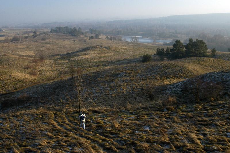 Wzgórza nad Liubavas / Poszeszupie-Folwark. Zdjęcie W. Barański, 2007.