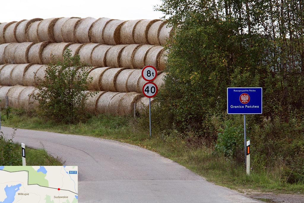 Łącznik graniczny Sudawskie - Grauziniai wybudowany w 2012 r.