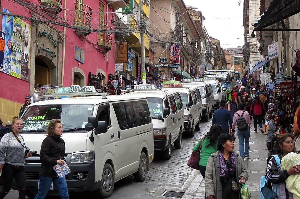 Zakorkowane ulice La Paz