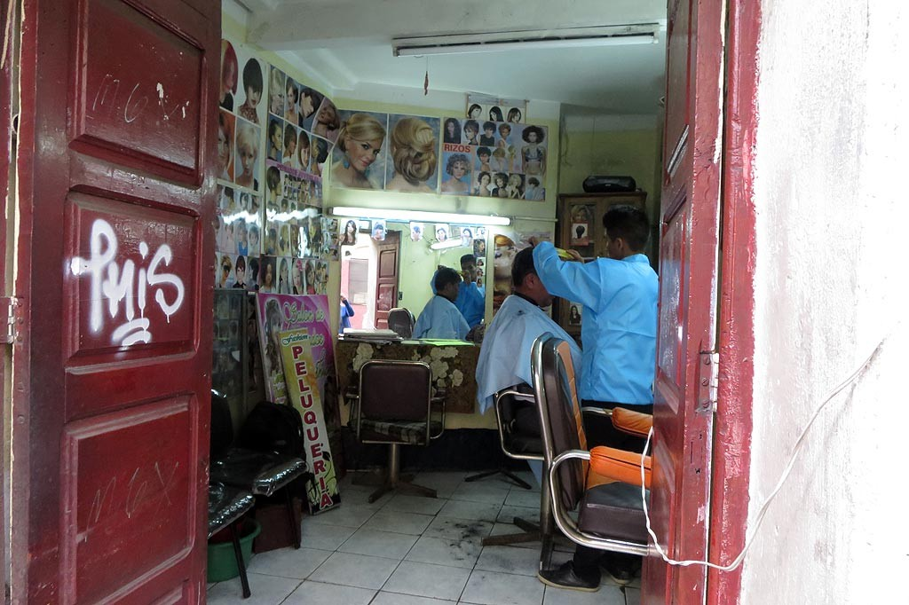 Z wizyta u fryzjera