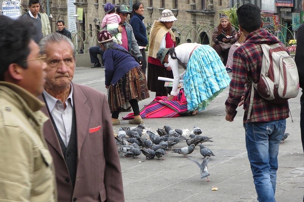 Centralny plac La Paz, Plaza Mayor