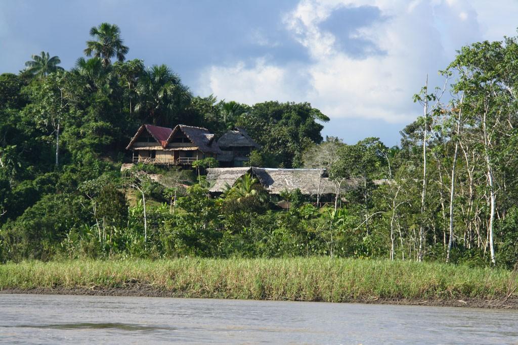 Nasz lodge nad Amazonka