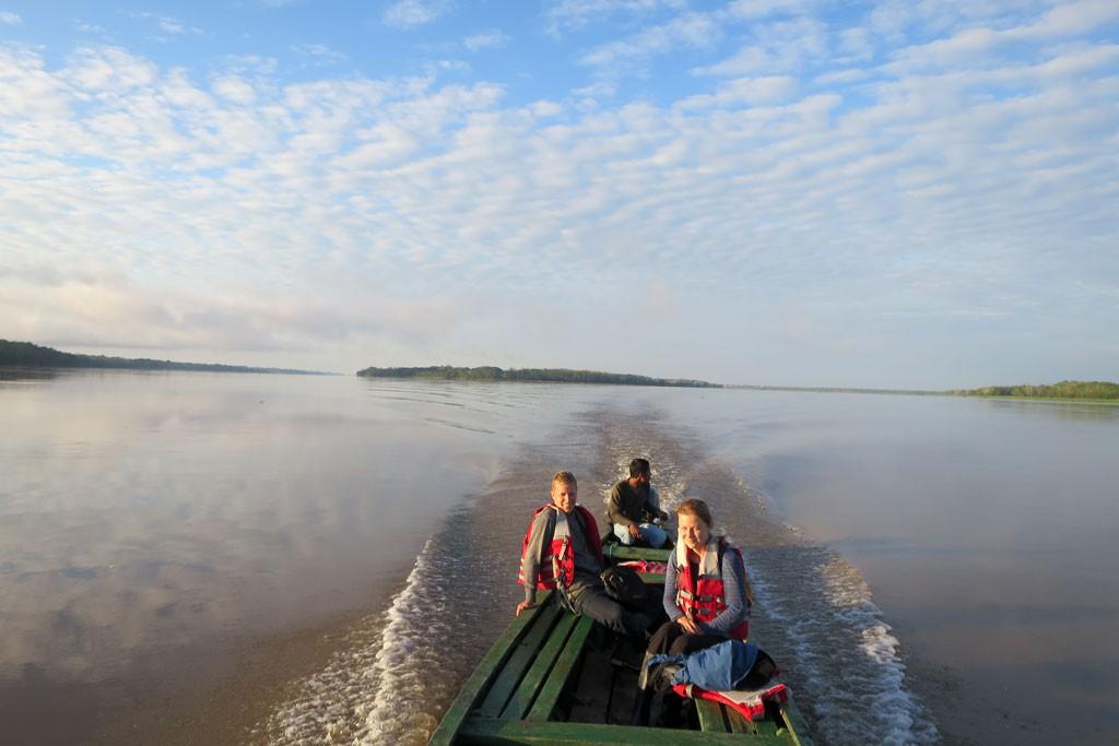 Amazonka w porze suchej jest dwukrotnie większa od Wisły u ujścia.