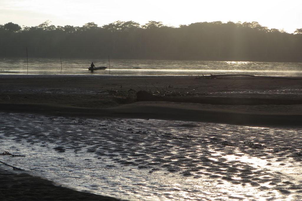 Błotnista plaża