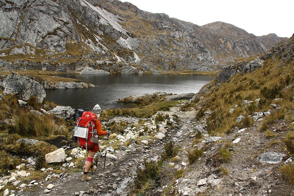Laguna Atocshaico (4600 m)