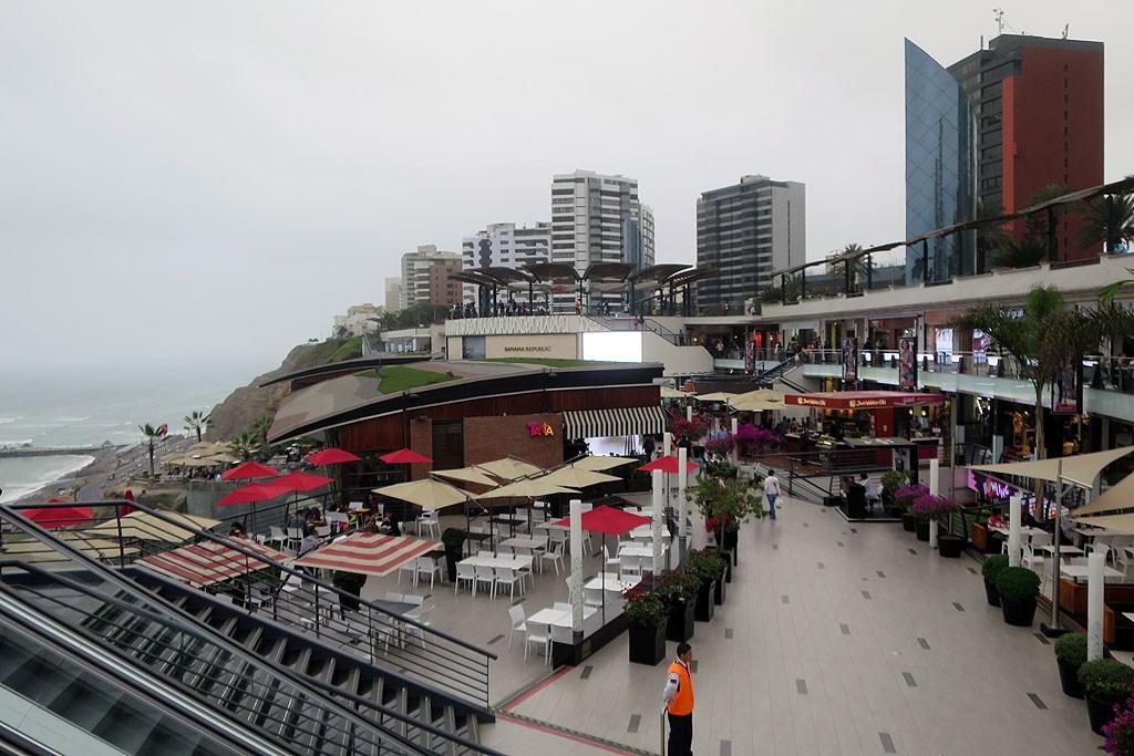 Centrum handlowe Larcomar.