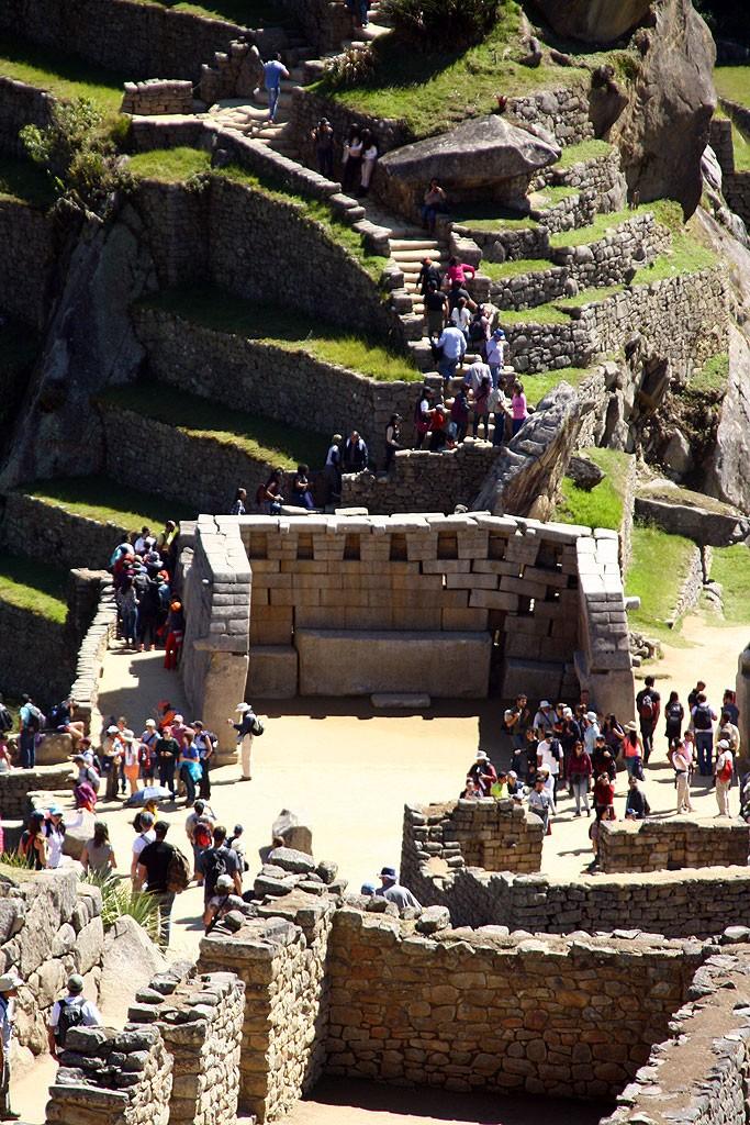 Esencja Gringo Trail, czyli kolejka w Machu Picchu.