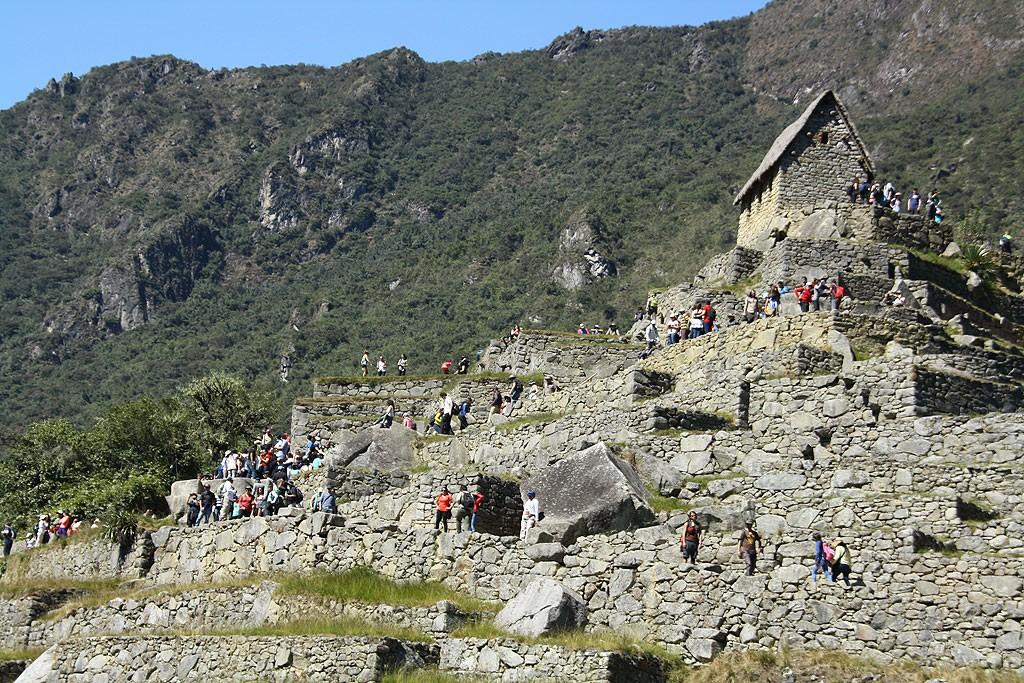 Dziennie Machu Picchu odwiedza 2-3 tysiące turystów..