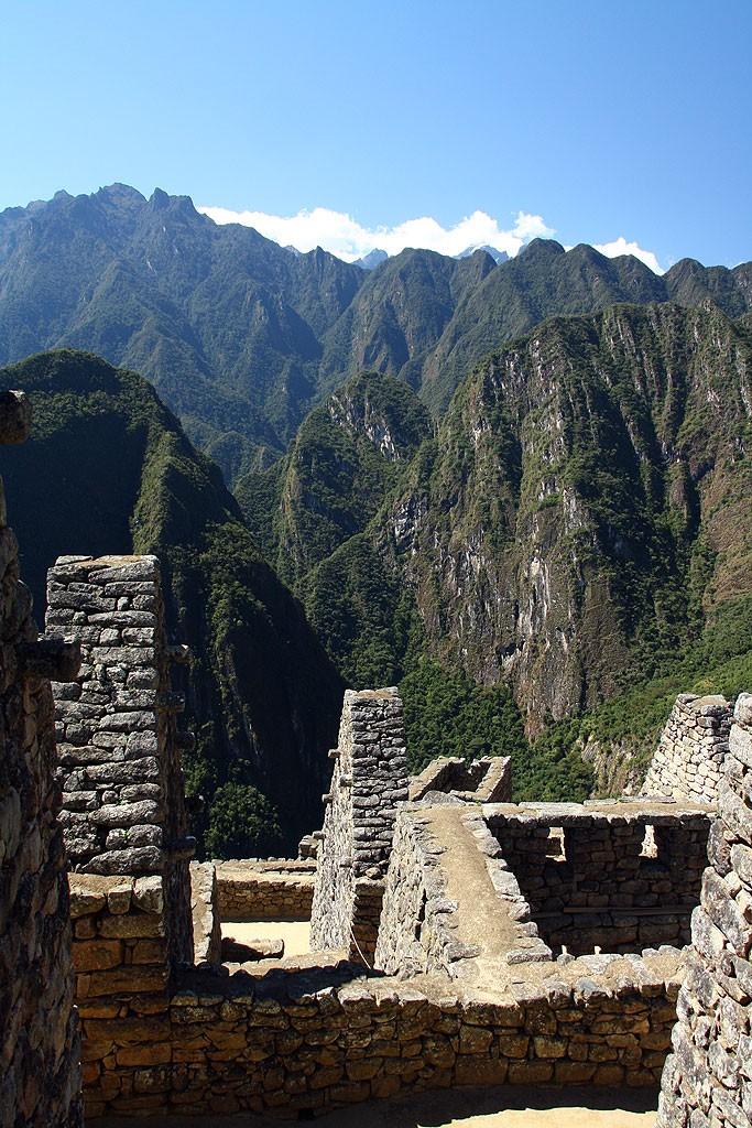 Macchu Picchu polozone jest w niewiarygodnym miejscu
