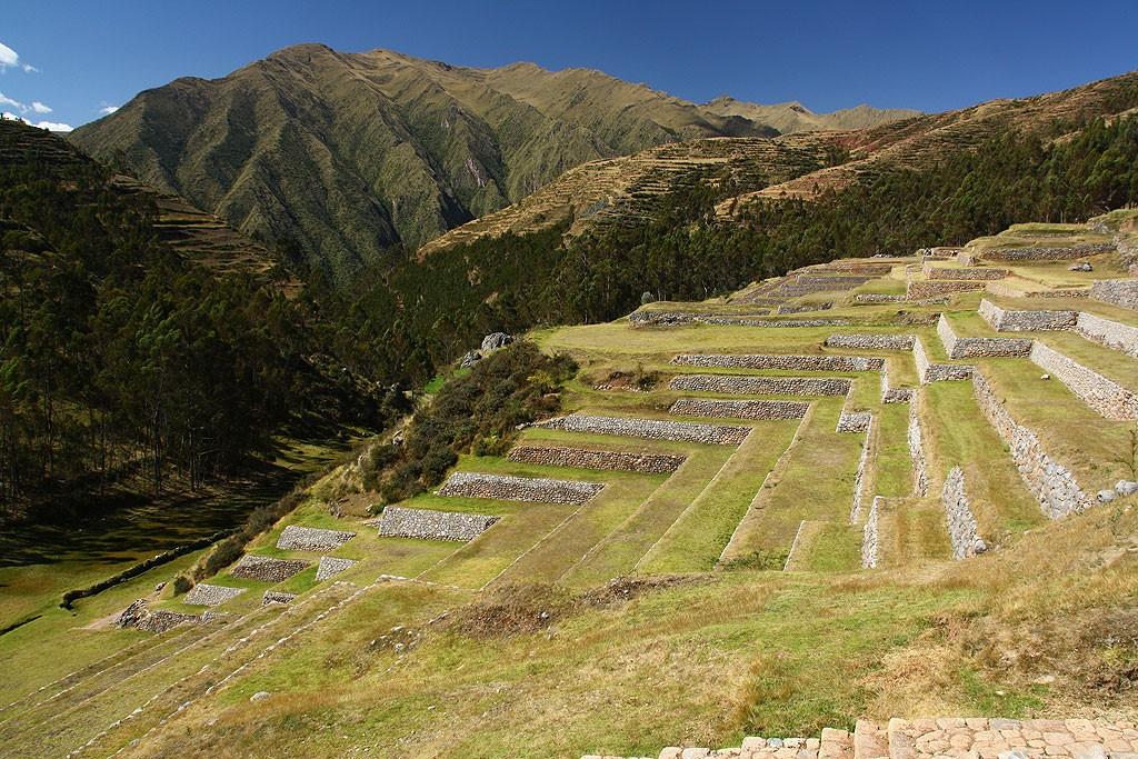 Inkaskie ruiny w Chinchero