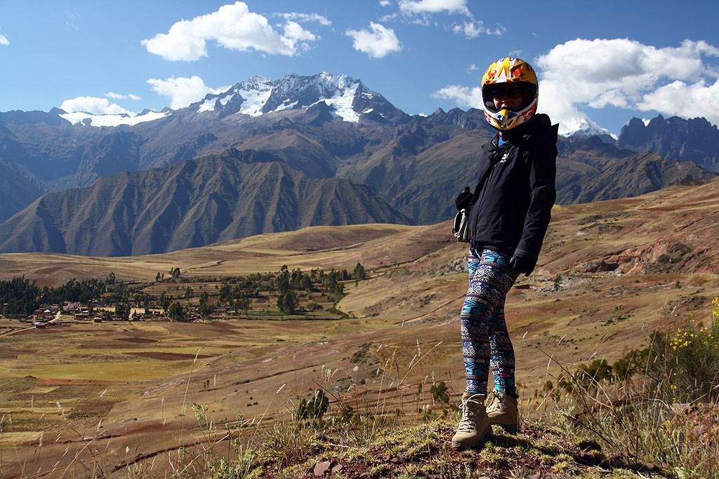 Swieta Dolina, droga z Cusco do Urubamby.