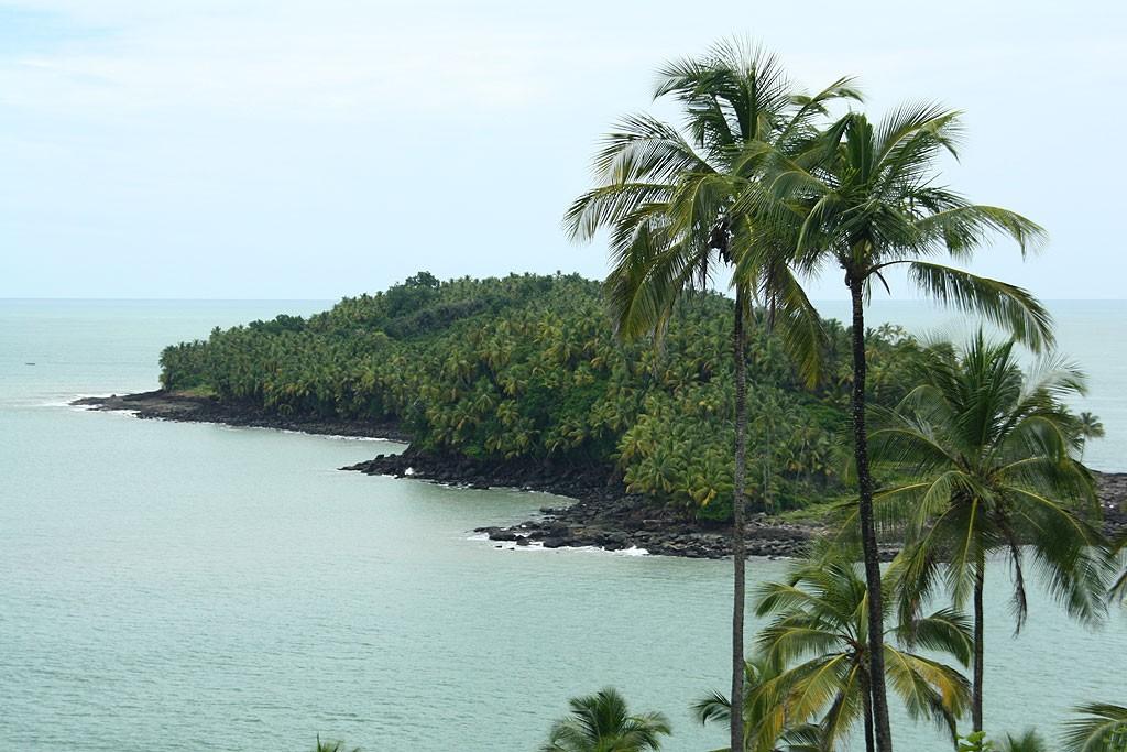 Widok na Île du Diable