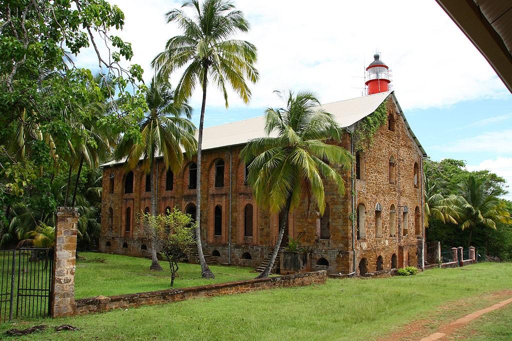 Dawny szpital wojskowy na Île Royale
