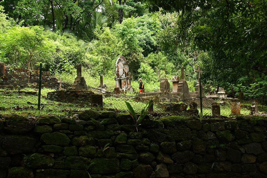 Cmentarz na Île Royale