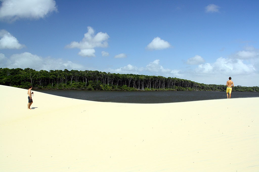 Dzień drugi w parku, brzegi Rio Preguiças
