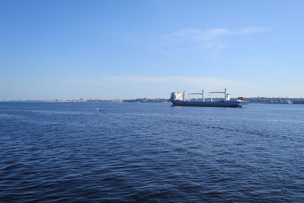 W okolicach Manaus Amazonka łączy się z Rio Negro. Na zdjęciu: tylko Rio Negro :-)