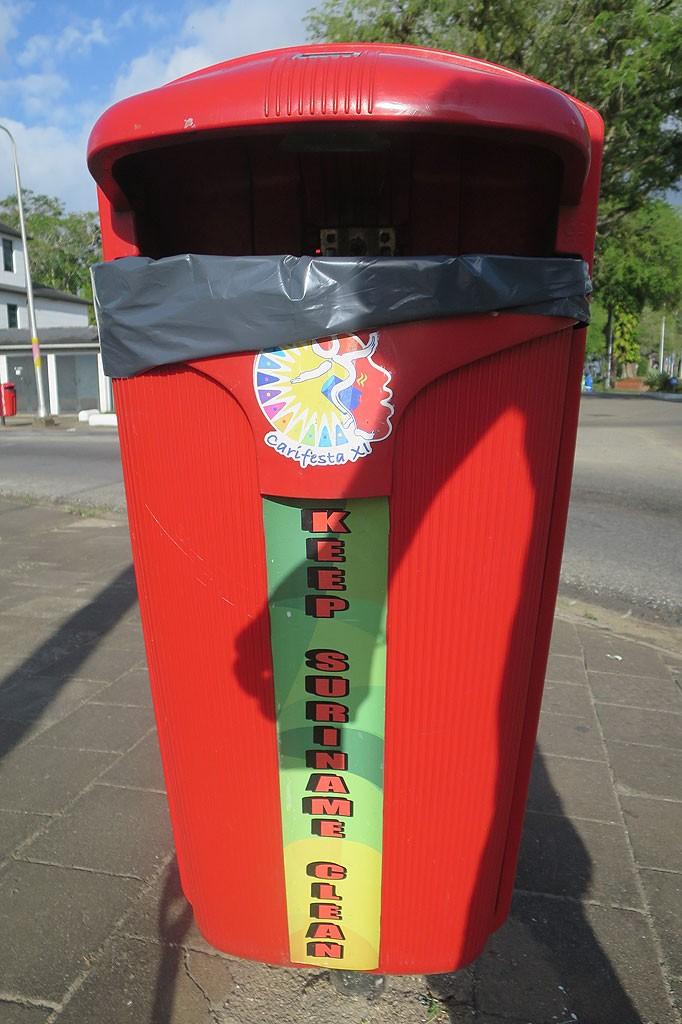 Dbajmy o czystość w Surinamie