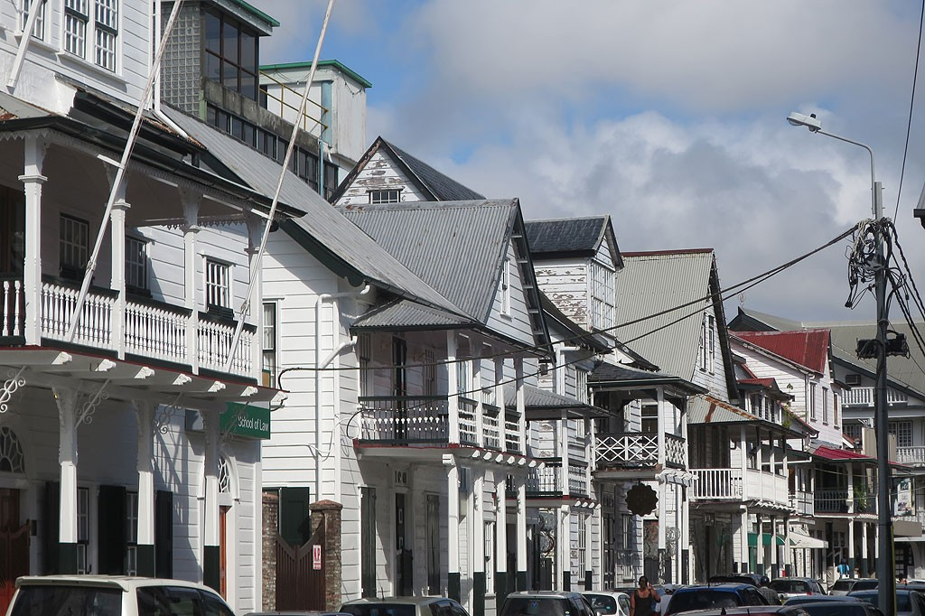 Stare miasto w Paramaribo