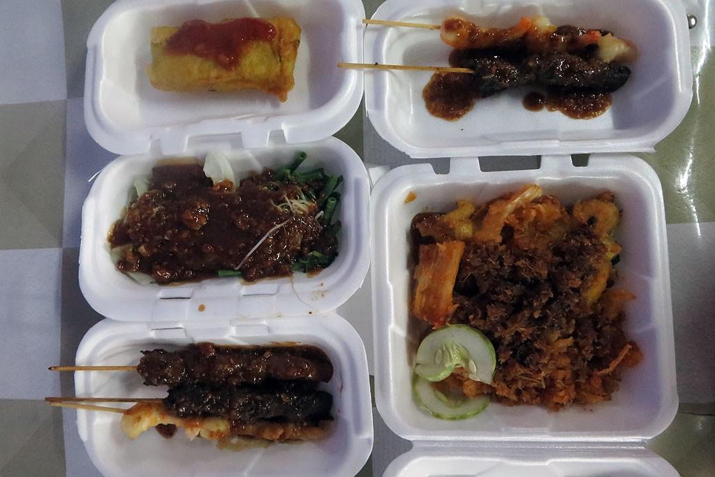 Indonezyjska kolacja