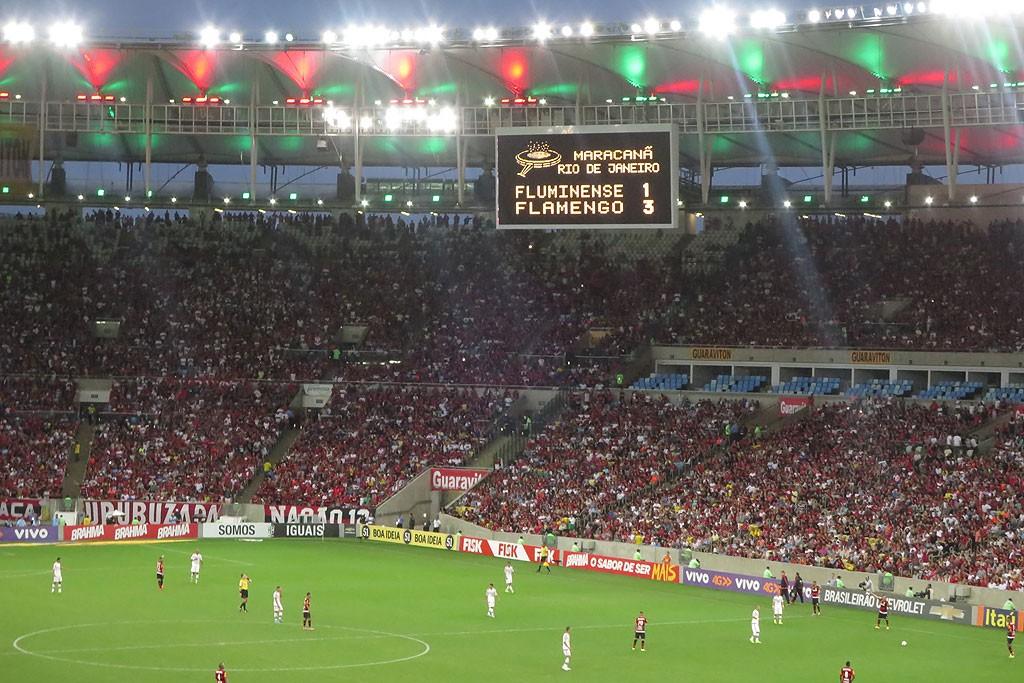 Ostateczny wynik 3:1 dla Flamengo