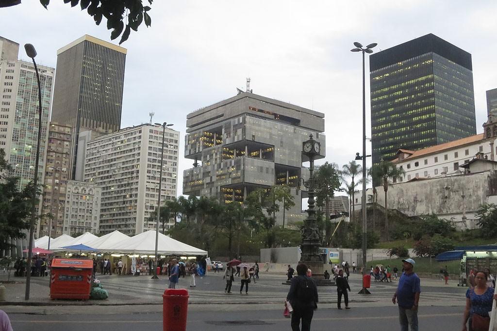 Siedziba Petrobrasu, w tzw. Trojkacie Bermudzkim. Tu wybuchaly najwieksze afery w historii wspolczesnej Brazylii.