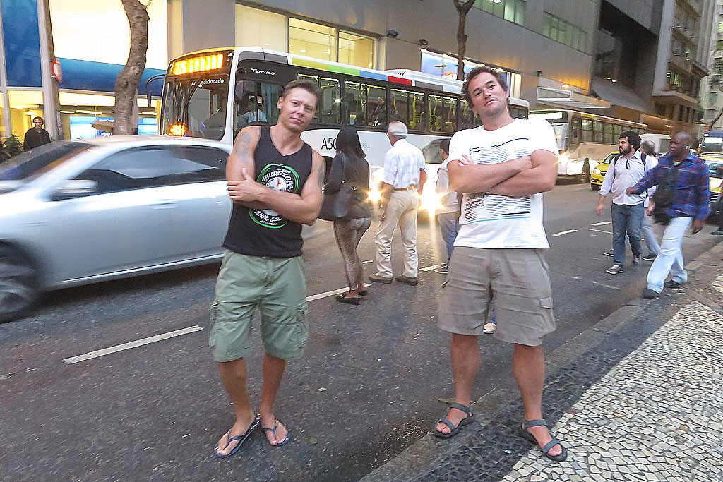Z Rafalem w Rio de Janeiro