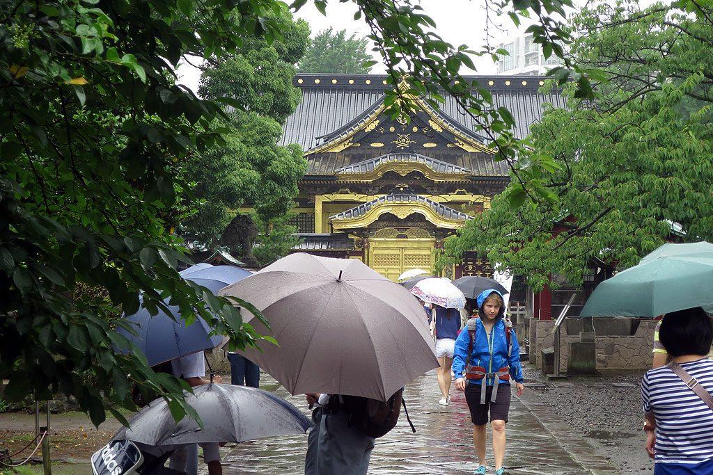 Świątynia shinto w parku Ueno