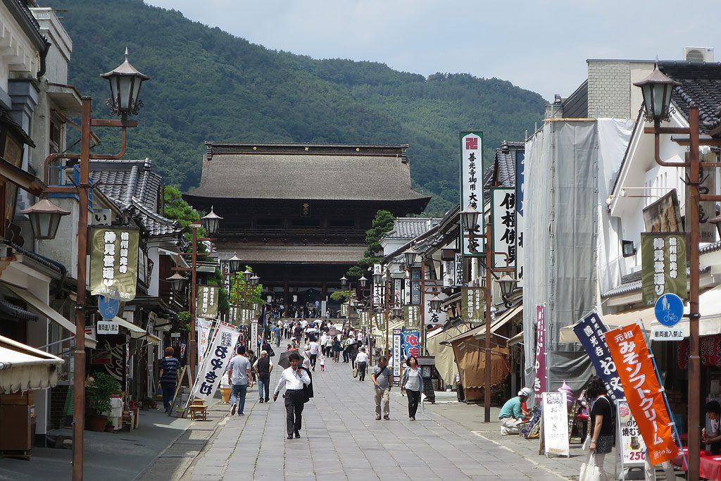 Olimpijskie miasteczko Nagano jest bardziej znane w Japonii z przepięknej świątyni Zenko-ji.